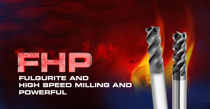 FHP Square End Mill - 4 Flutes