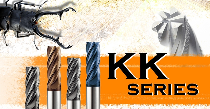 KKH Roughing & Finishing End Mill - 4 Flutes